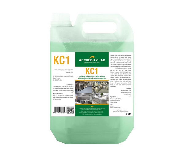 KC 1 - Multi Purpose Cleaner& Disinfectant by Accredity Lab - 2071MALL