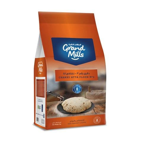 GRAND MILLS Flour No.3 Chakki Atta (2kg) - 2071MALL