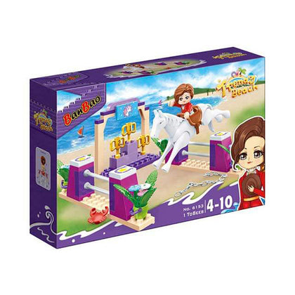 Banbao Trendy Beach, 119 Pieces, 6153