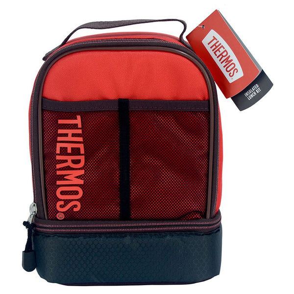 Thermos Sport Mesh Dual Lunch Kit - Maroon/Red, 132820