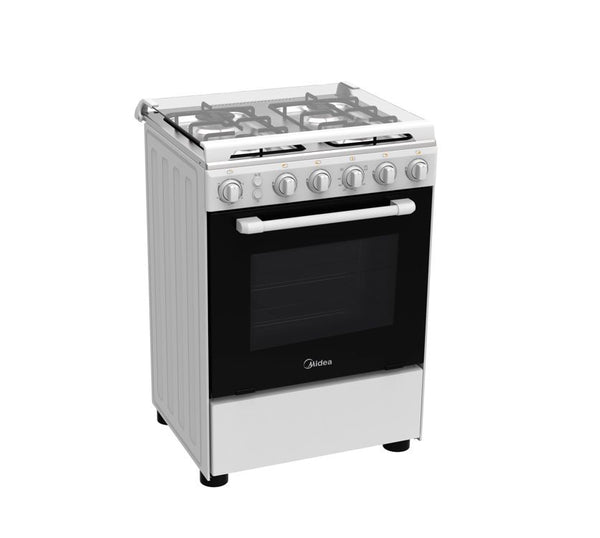 Midea Gas Cooker 4 Gas Burners With Oven & Grill BME62057-FFD - 2071MALL