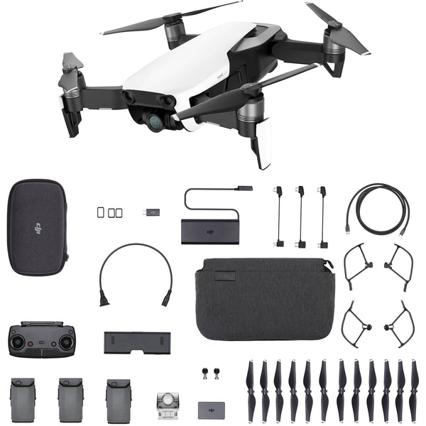 DJI Mavic Air 2 Fly More Combo Drone EU, Arctic White - 2071MALL