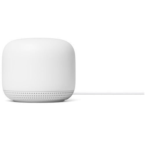 Google Nest Wifi 1 Router - AC2200 and 2 point - AC1200 Mesh Router Snow (3-pack) White, GA00823-US - 2071MALL
