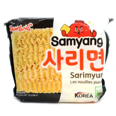 SAMYANG Plain Noodles 5x110grams - 2071MALL