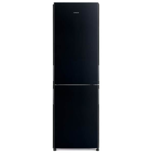 Hitachi 410 Litres French Bottom Freezer Refrigerator Black - RBG410PUK6GBK - 2071MALL