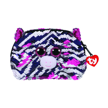 Ty Fashion Sequin Zebra Zoey Accessory Bag - 2071MALL