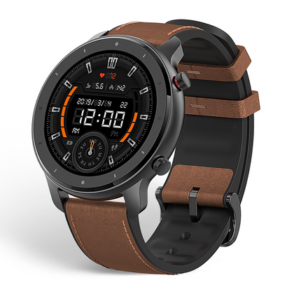 Amazfit GTR 47mm Smartwatch Elegant in Action, Active in Style Stainless Steel - 2071MALL