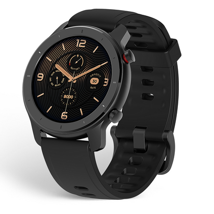 Amazfit GTR 42mm Smartwatch Elegant in Action, Active in Style Metal & Ceramic Design - 2071MALL