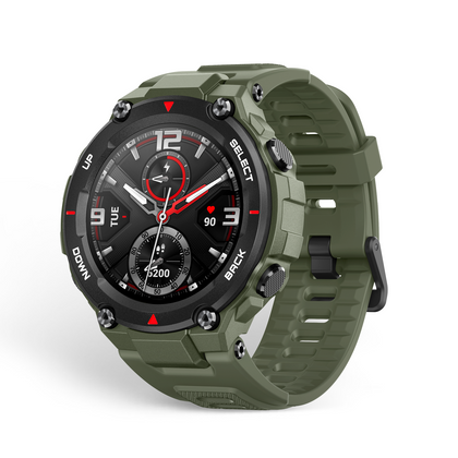 Amazfit T-Rex Smartwatch Unleash your Instinct, Resistant to Harsh Environvents - 2071MALL