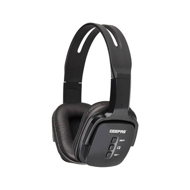 Geepas Bluetooth Headphone With Mic 1X20 - Black, GHP4702 - 2071MALL