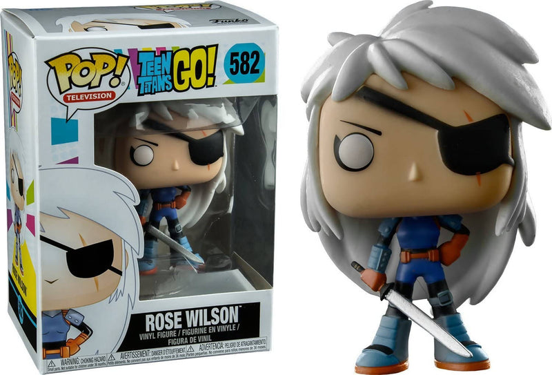 Funko Pop Tv Teen Titans Go -Rose Wilson Collectible Toy - 2071MALL