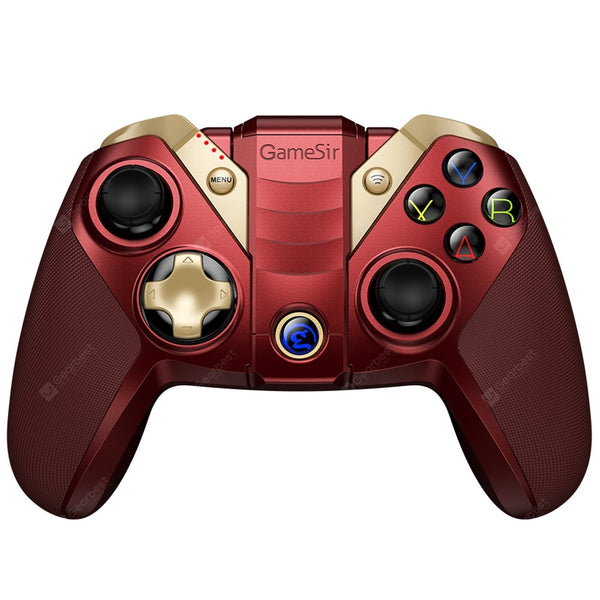 GameSir M2 Premium IOS Bluetooth Gaming Controller (RED) - 2071MALL