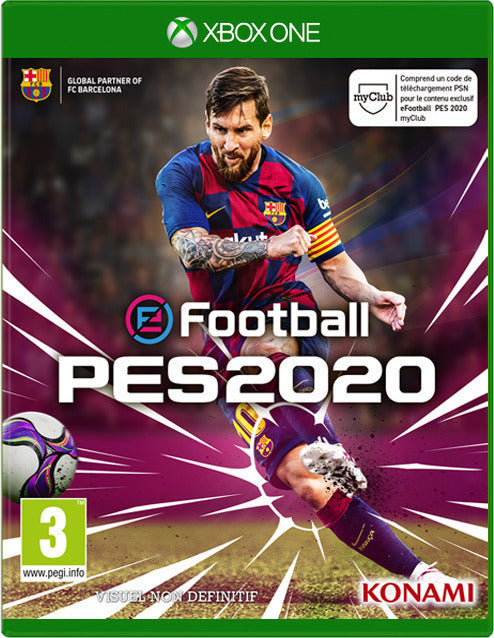 PES 2020 PRO EVOLUTION SOCCER XBOX by Konami - 2071MALL
