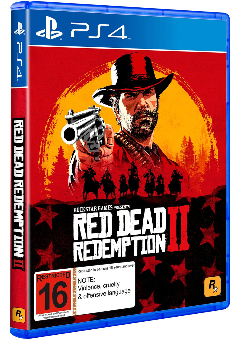 Red Dead Redemption 2 for PS4 - 2071MALL