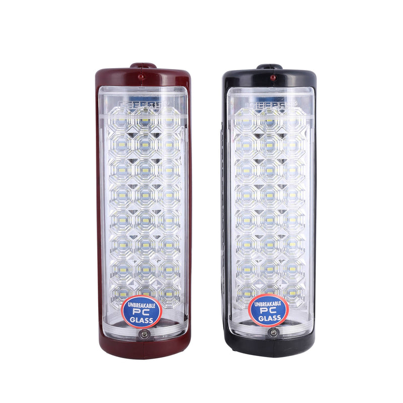 Geepas Rechargable 2In1 Led Lantern 24Led 100Hrs1x8 - Red/Black, GE5566 - 2071MALL