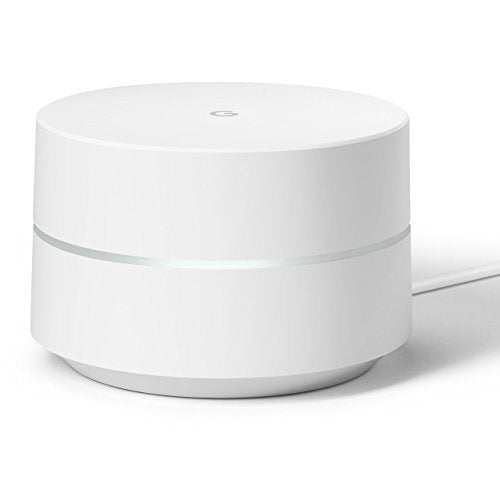 Google WiFi Home Mesh System Routers AC1200- (1Pack) - White, GA00157-US - 2071MALL