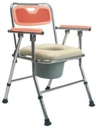 Commode Chairs Medical Equipmentfor Bathrooms and Rehabilitation Patients (orange) - 2071MALL