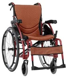 "Karma S-Ergo 125 Self Propelled Wheelchair 16"" (Orange) - 2071MALL"