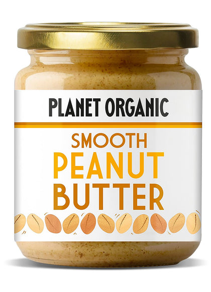 PLANET-ORGANIC Smooth Peanut Butter 170g - 2071MALL