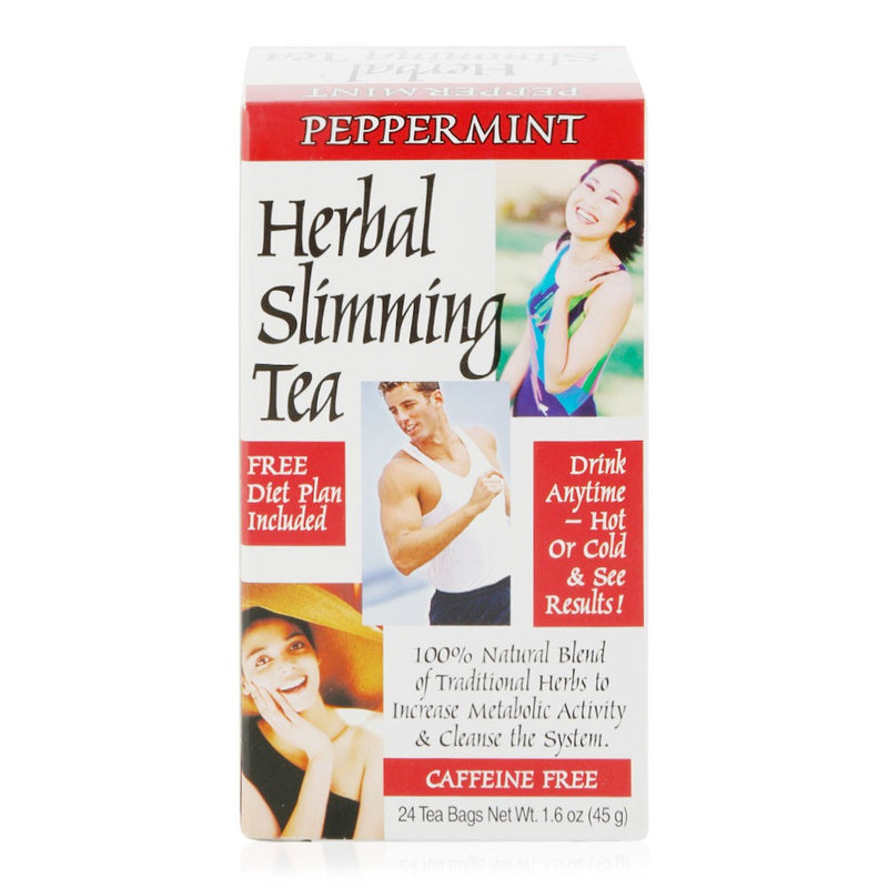 21st Century Peppermint Spice Herbal Slimming Tea - 24 Pieces