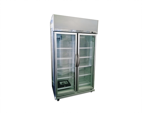 New General 760 Liter Stainless Steel Chiller/Fridge 1100x650x2000 mm - White, NGCSC 20S - 2071MALL