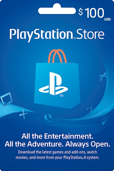 PlayStation Store Kuwait $100 US Dollar (USD)/- Instant Delivery (Prepaid Only) - 2071MALL