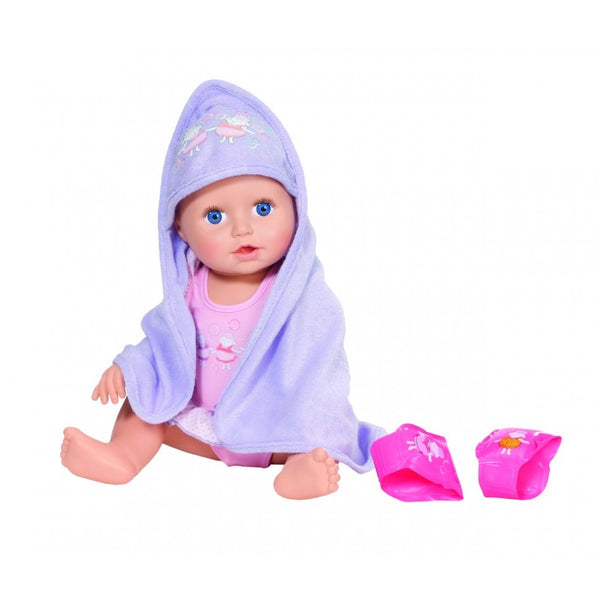 Baby Annabell Doll Learns To Swim, 43cm B/O - 2071MALL