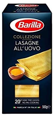 Barilla Barilla Egg Lasagne (500gm) - Pack of 1 - 2071MALL
