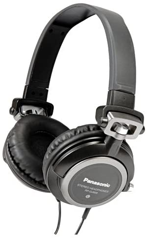 Panasonic RP-DJ600E-K Mid Range DJ Headphones - Black - 2071MALL