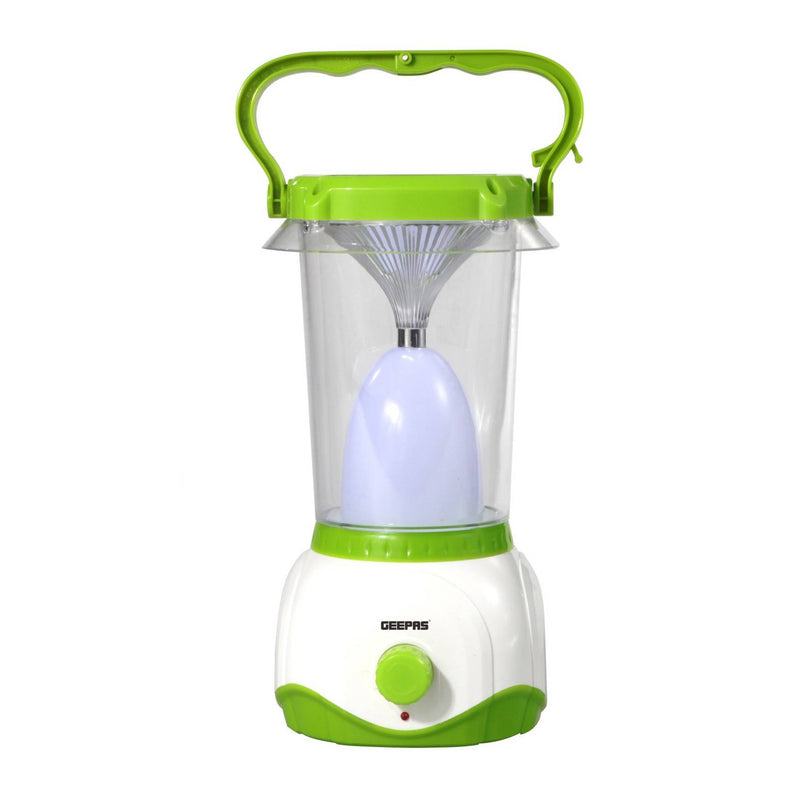 Geepas Rechargable Led Lantern 48 Pcs 0.2W Led 10Hrs 1x20 - Green, GE5701 - 2071MALL