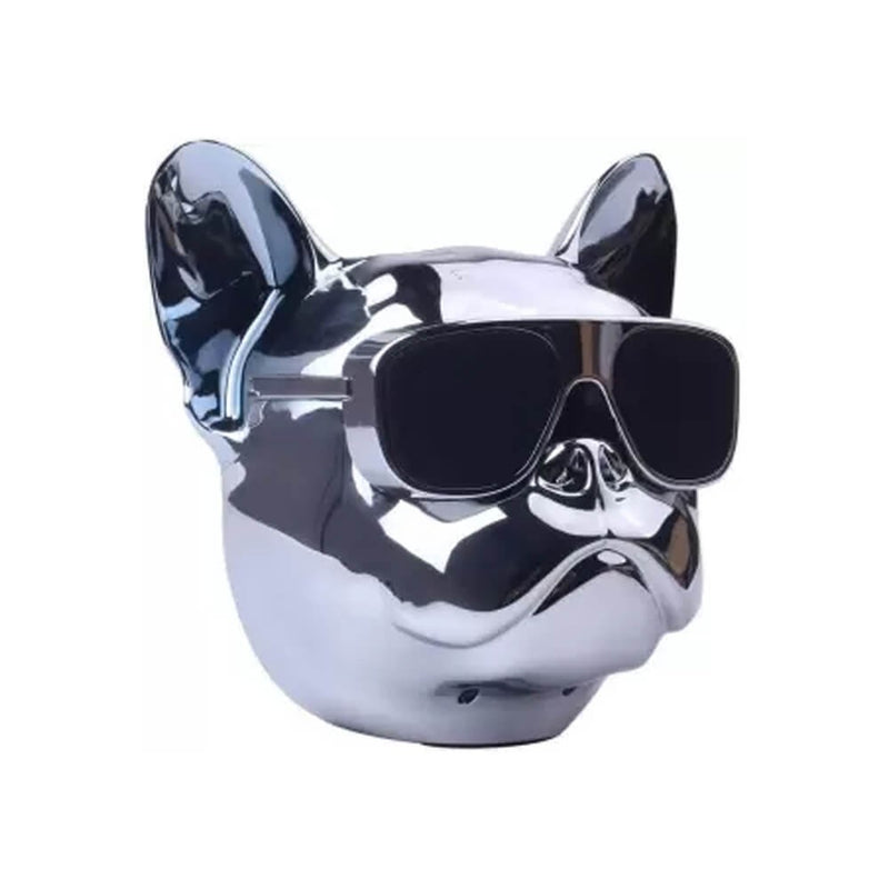 Jarre Aerobull Nano Wireless Bluetooth Speaker Chrome Silver - 2071MALL