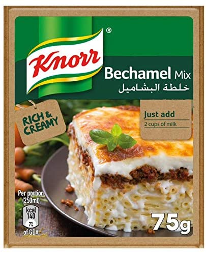 Knorr Bechamel Mix, 75g (Pack of 12) - 2071MALL