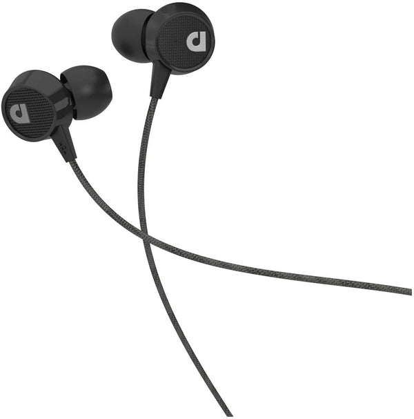 Audiofly Af56 In-Earphones Noise Isolating Silicon Ear Tips With Cleartalk Microphones - Black - 2071MALL
