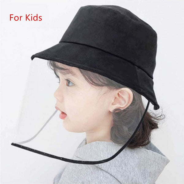 Protective Cap/Face Shields/Anti-dust Head Protector/ Stylish Fisherman Hat (Kids) - 2071MALL