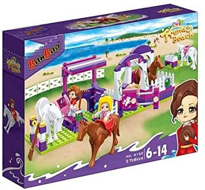 Banbao Trendy Beach, 269 Pieces,6150