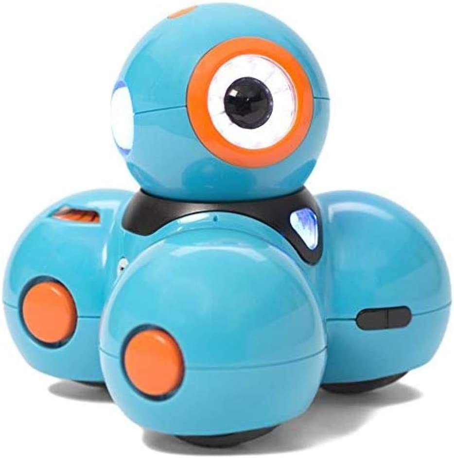 Wonder Workshop Dash - Coding Robot for Kids 6+ - Voice Activated - Navigates Objects - 5 Free Programming STEM Apps - Creating Confident Digital Citizens - 2071MALL