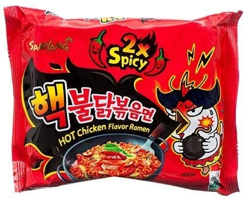 SAMYANG Extreme 2x Spicy Hot Chicken 5x140gramsn Noodles - 2071MALL
