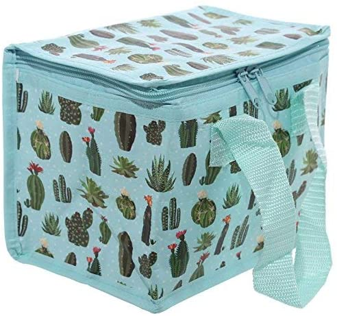 Cactus Design Lunch Box Cool Bag - 2071MALL