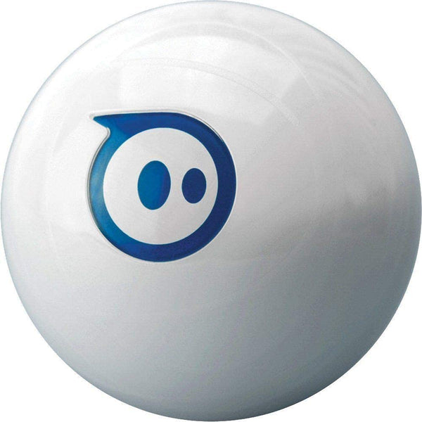 Sphero 2.0 App Controlled Robotic Ball - Retail Packaging - White/Blue - 2071MALL