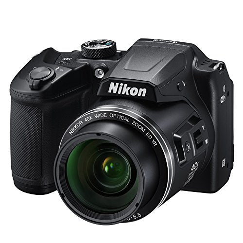 Nikon COOLPIX B500-16 Megapixel Compact Camera Black - 2071MALL