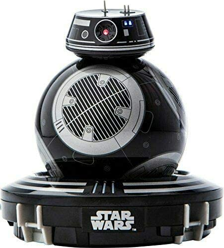Sphero Star Wars Bb-9E Wars Toys, App Enabled Droid Robot - Black - 2071MALL
