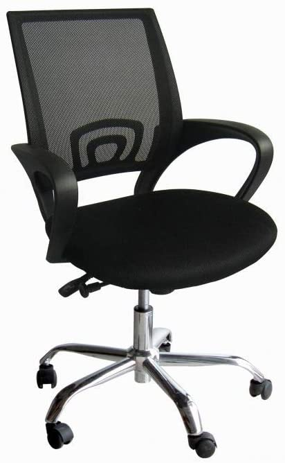 Galaxy Design Computer Desk Chair for Office and Gaming, back comfort and lumbar support (Black), GDF-7825 - 2071MALL