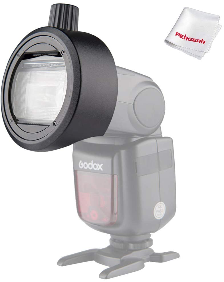 Godox S-R1 Round Head Magnetic Modifier Adapter (for Speedlight) - 2071MALL