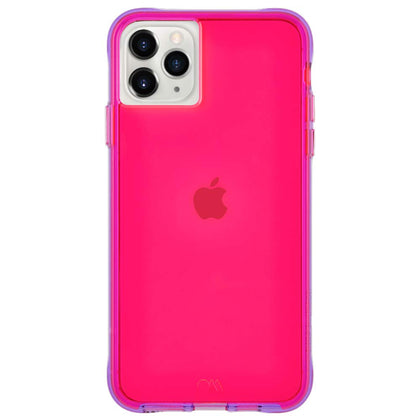 Case-Mate - Gianni Case for iPhone 11 Pro Max, 6.5-inch -Tough Neon Pink/Purple, CM-CM039406 - 2071MALL
