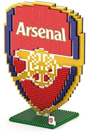 Foco Brxlz Football Club Mini Crest  Building Set 3D Construction Toy - Arsenal - 2071MALL