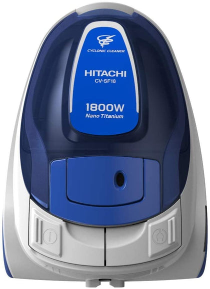 Hitachi CVSF1824CBSBL VCL 1800 Watt Cyclone, Blue, One Year Warranty - 2071MALL