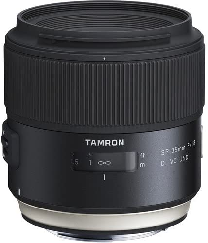 Tamron SP 35mm F1.8 Di VC USD Lens for F012 Lens for Canon Cameras - 08970-00107-00… - 2071MALL