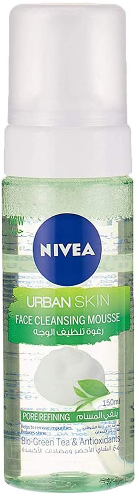 Nivea Face Urban Skin Face Cleansing Mousse 150ml - 2071MALL