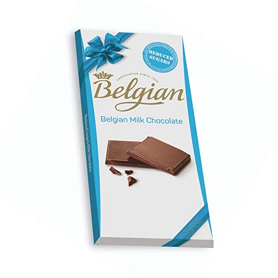 Belgian NSA Milk Chocolate, 100g - 2071MALL