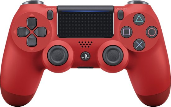 Sony PS4 DualShock 4 Wireless Controller, Red - 2071MALL